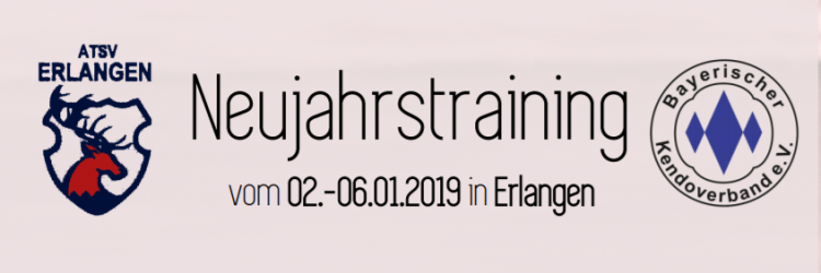 Das Neujahrstraining vom 02.-06.01.2019 in Erlangen