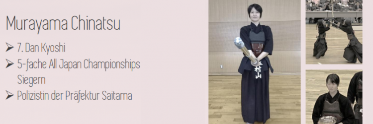 Fragerunde mit Chinatsu Murayama-sensei beim Neujahrsturnier 2019 in Erlangen
